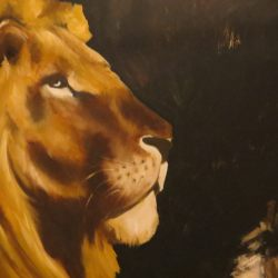 Lion Painting animal paintings by Amanda Grafe
