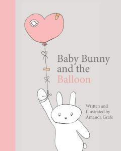 Baby Bunny and the Balloon early reader book by Amanda Grafe
